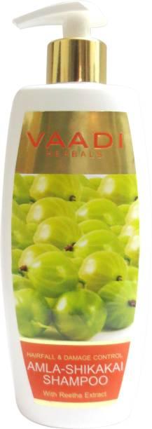 VAADI HERBALS Amla Shikakai Shampoo - Hairfall & Damage Control