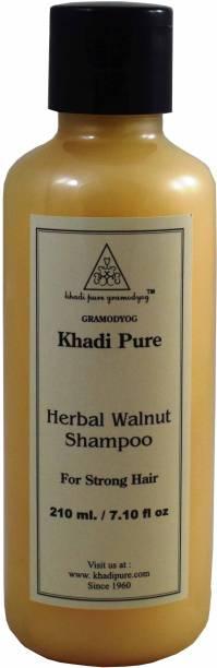 Khadi Pure HERBALWALNUT SHAMPOO GRAMODYOG FOR STRONG HAIR