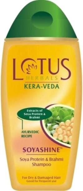 LOTUS Soyashine - Soya Protein and Brahmi Shampoo
