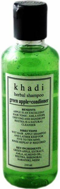 Khadi Herbal Green Apple + Conditioner Shampoo