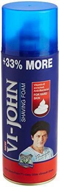 VI-JOHN Shaving Foam 400GM For Hard Skin