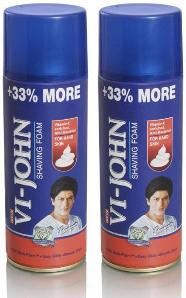 VI-JOHN Shaving Foam Combo (HARD Skin)