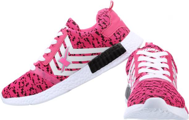 pink white. Sparx SL-83 Running Shoes For Women Pink White