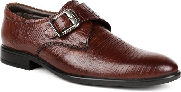 Monk Strap Shoes - Buy Single   Double Monk Strap Shoes Online At ... 148f0d6738
