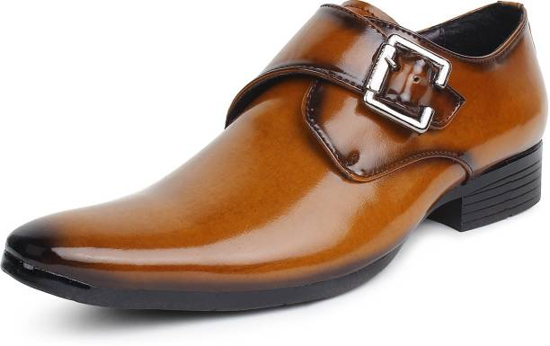 c07092877cfe4 Monk Strap Shoes - Buy Single   Double Monk Strap Shoes Online At ...