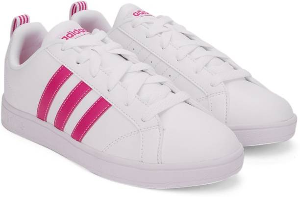 adidas Neo Advantage CL Clean QT W White Mystery Ruby Pink
