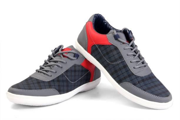 Shoe Island POPULAR Studd-X Shepherd s Check College Wear Blue  n  Grey  Casual