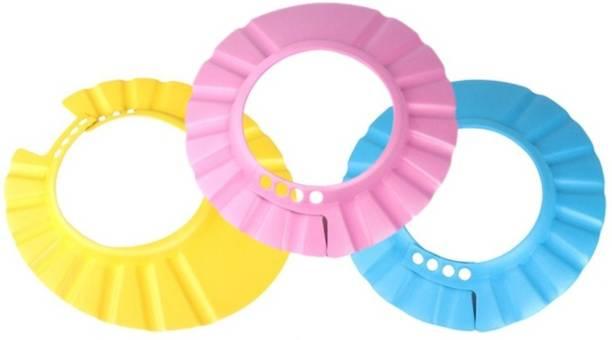 CheckSums 11906 Adjustable Soft Baby Shower Cap / Shampoo Visor / Bath Visor / Eye Protection Cap for Kids & Infants