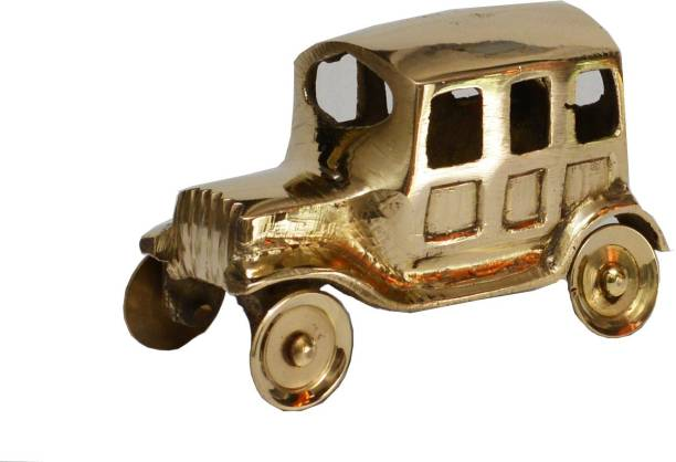Veda Home Lifestyle BRASS SMALL DECORATIVE CAR Decorative Showpiece