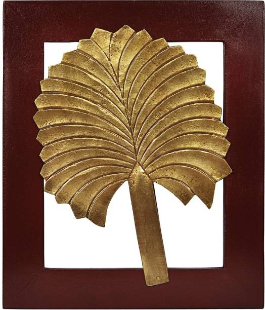 Lal Haveli Wall Hanging Wooden Wall Frame Decorative Showpiece Painting Decorative Showpiece  -  33 cm