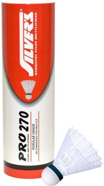 Silver's Pro 270 Nylon Shuttle  - White