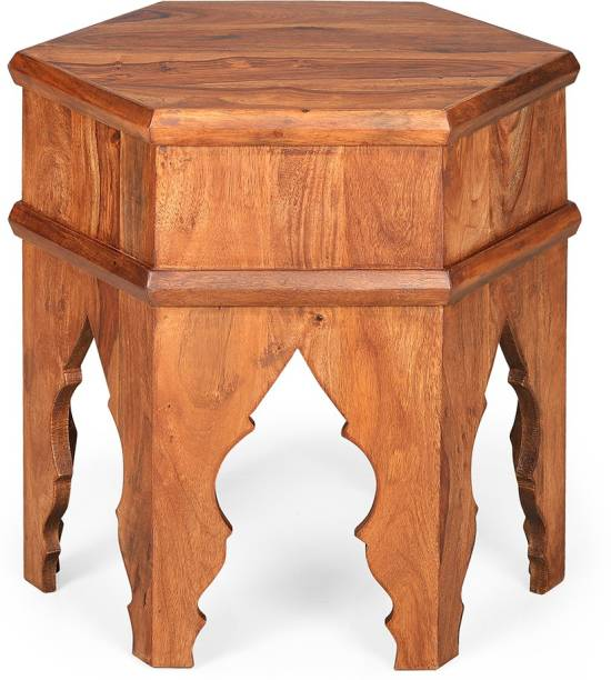 @Home by nilkamal Sheesham Wood Solid Wood Side Table