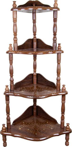 MCT Solid Wood Corner Table