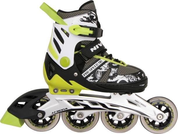 NIVIA Pro Speed In-line Skates - Size 7-8 UK