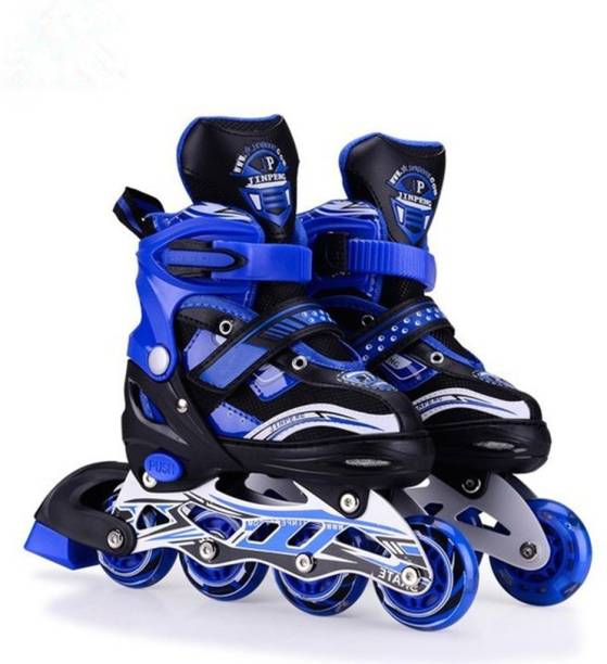 HOTEON Skating Shoe have different size and with PU LED wheel In-line Skates - Size 9-2 UK