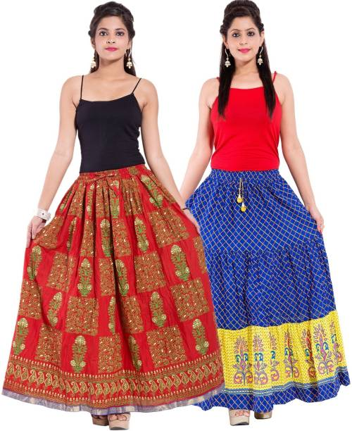 04dc8a677 Polycotton Skirts - Buy Polycotton Skirts Online at Best Prices In ...