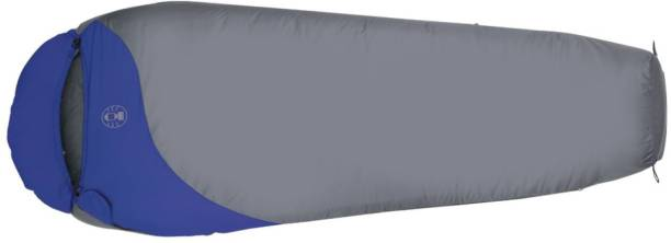 Coleman Pathfinder Sleeping Bag, Temp -18C to + 3C, 1.7 Kg (Blue, Grey)