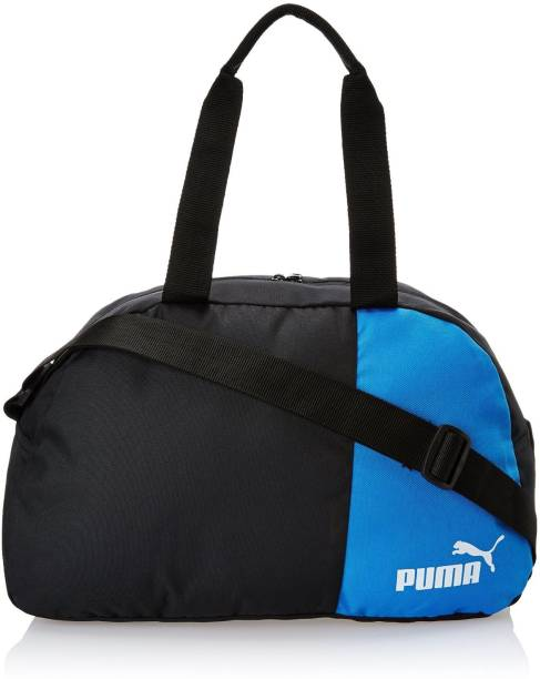 Puma Black and Team Power Blue Polyester Messenger Bag Small Travel Bag -  Small 7a8cadc33a5fa