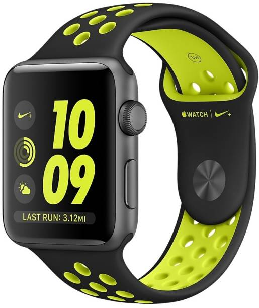 APPLE Watch Nike+ - 42 mm Space Gray Aluminium Case with Black