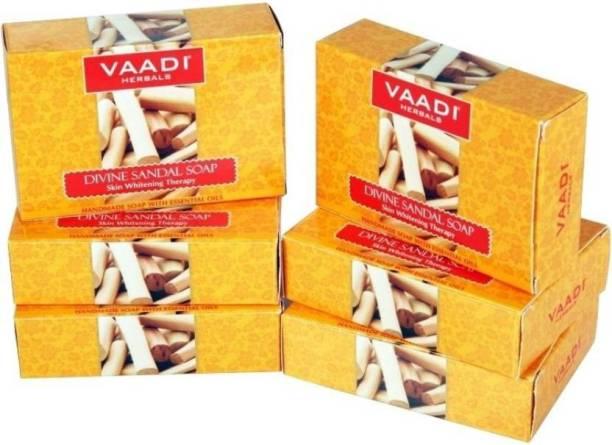 VAADI HERBALS Sandal Soaps with Saffron & Turmeric