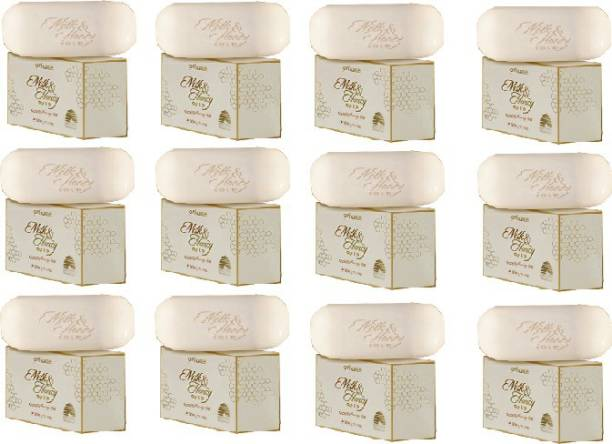 Oriflame Oriflame Milk and Honey Bar Soap (Pack of 12)