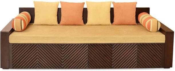 @Home by nilkamal Ohio Double Engineered Wood Sofa Bed