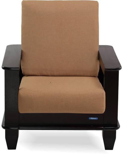 Nilkamal Manhattan Fabric 1 Seater  Sofa