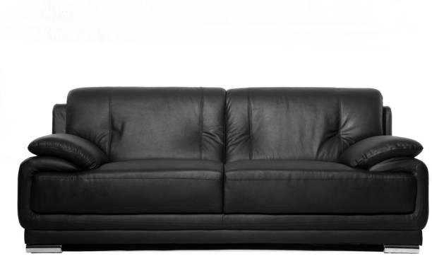 FURNY Rocco Leatherette 3 Seater  Sofa