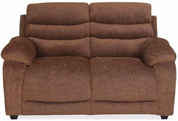 @Home by nilkamal Perkins Fabric 2 Seater  Sofa