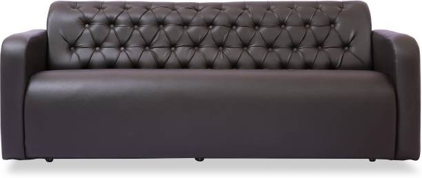 Durian BID/32626/A/3 Leatherette 3 Seater  Sofa