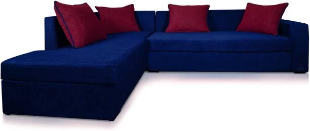 Adorn Homez Fabric 5 Seater  Sofa