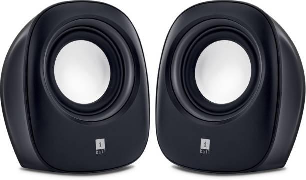 Iball Soundwave 2.0 Multimedia Portable Laptop/Desktop Speaker