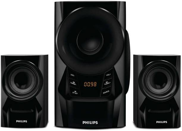 PHILIPS MMS6080B/94 60 W Portable Bluetooth Laptop/Desktop Speaker