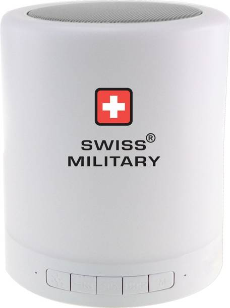 221a315d8c3 Swiss Military 6 in 1 Smart Touch Lamp with Bluetooth Speaker 3 W Portable  Bluetooth Speaker