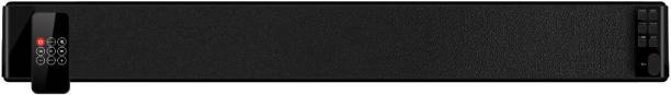 Portronics POR  667 Sound Slick 30 W Portable Bluetooth Soundbar   Black, Stereo Channel