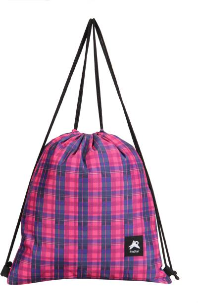 50% off · PinStar Zynga String Backpack - Tartan Pink (XL) Drawstring Bag f6996744ba639