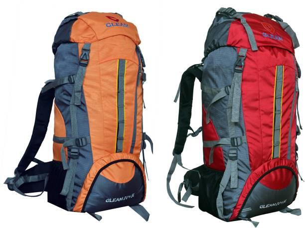 Gleam 2209 Mountain   Hiking   trekking bag 75 Ltrs with Rain Cover RUCKSACK ca90b0992862f