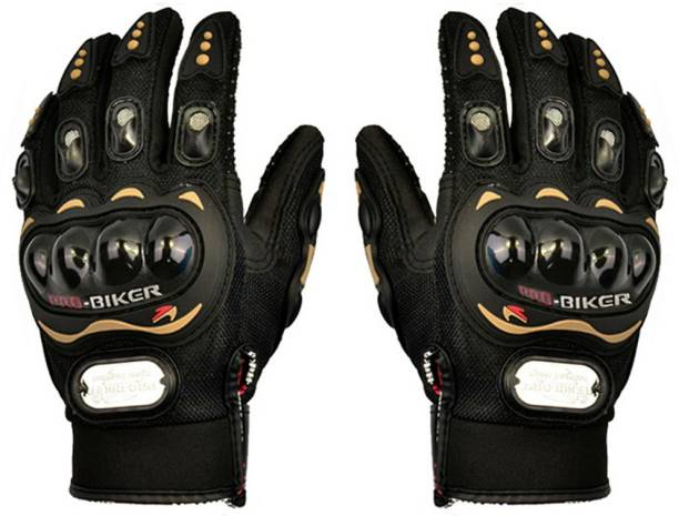 Probiker MCS-01A Skid-Proof Full Finger Motorcycle Racing - Black (Pair / XXL-Size) Riding Gloves