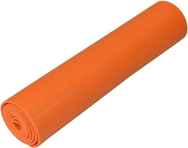 Relax Fitness Orange 4 mm Exercise & Gym Mat