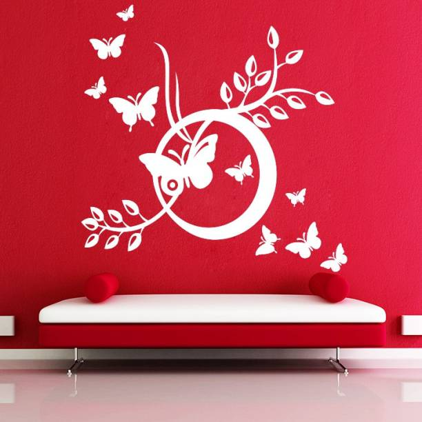 decor kafe Large Wall Sticker For Bedroom