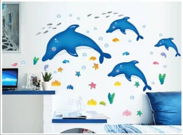 decor kafe Medium Wall Sticker For Bedroom