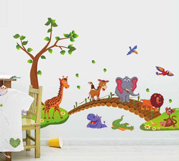 JAAMSO ROYALS Large PVC Vinly Wall Stickers
