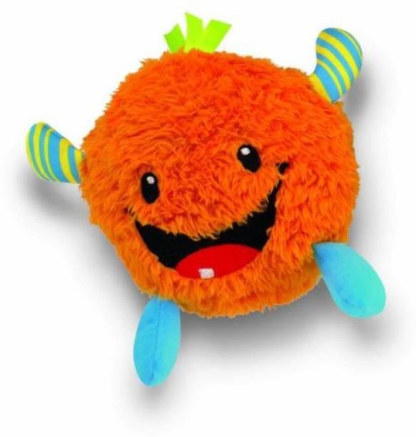 FISHER-PRICE Giggle Gang Plush Orange School Bag
