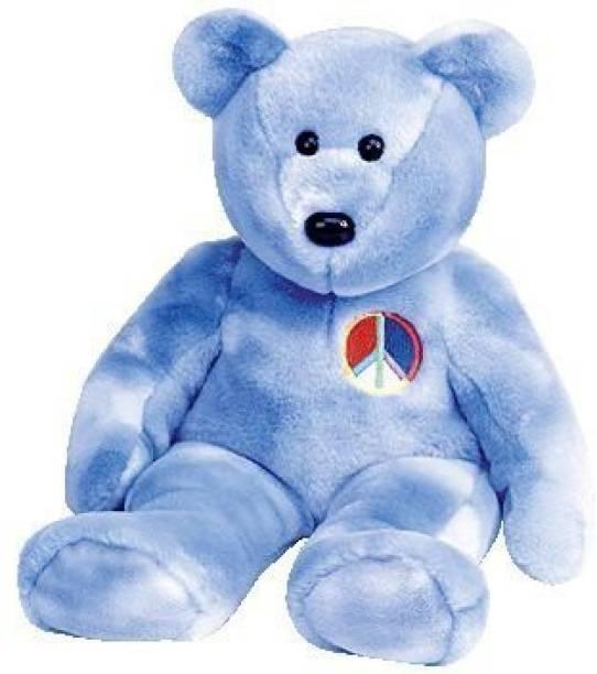 6b1ddc510ad TY Beanie Babies Peace Symbol Bear