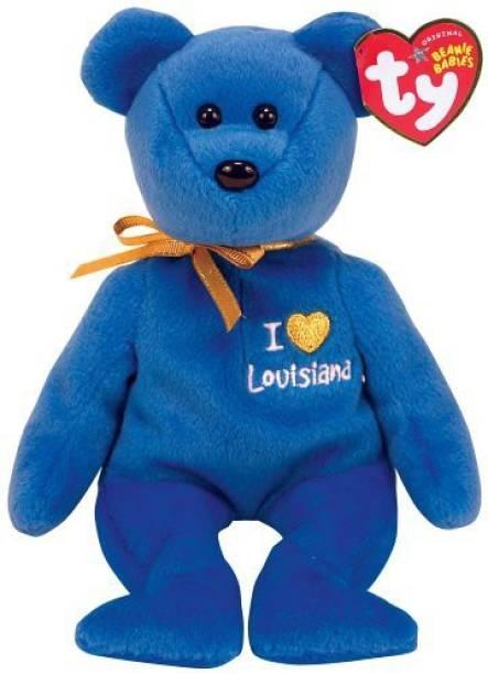 aae3a10fc2d ty Louisiana I Louisiana Bear Beanie Babies - 30 cm