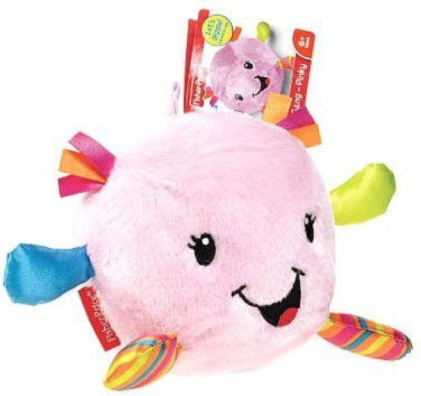 FISHER-PRICE Giggle Gang Plush Pink School Bag