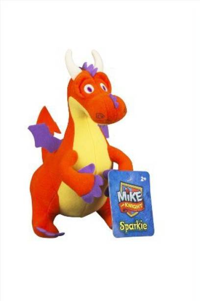 FISHER-PRICE Mike The Knight Sparkie Plush School Bag