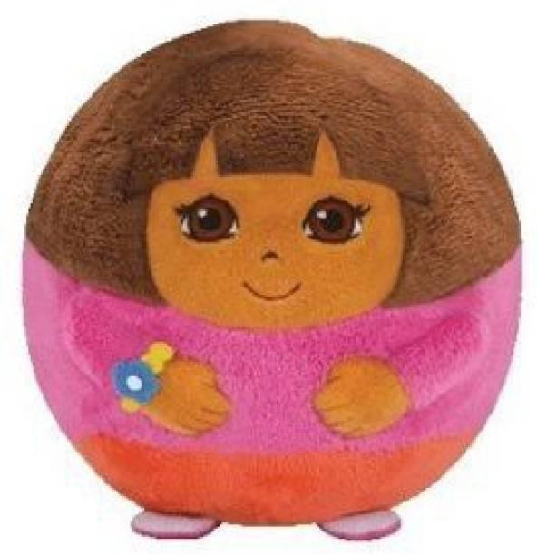 Dora The Explorer Ty Beanie Ballz Plush Regular