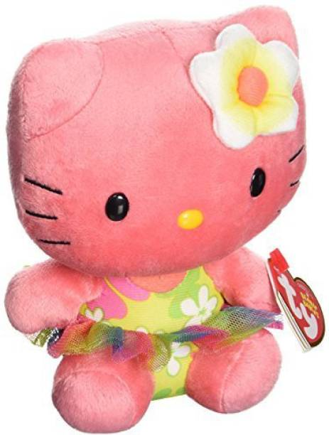 9f8636d7244 TY Beanie Babies Hello KitRose Plush