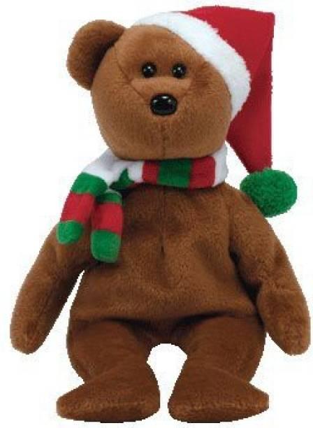7460bf19f81 ty Beanie Babies 2008 Holiday Teddy Santa Hat